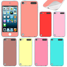 For Apple iPod Touch 5 5th/ 6 6th Gen Color Decal Vinyl Sticker Skin Cover