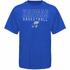Kansas Jayhawks Frame Basketball T-Shirt - Royal Blue - College