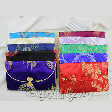 Wholesale Chinese Handmade Vintage Silk three-piece suit bag/COINS bag/silk bag