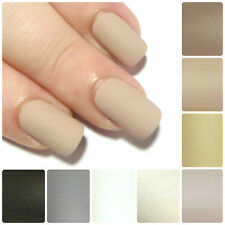 Matte Full False Nails Hand Painted Short Square Stiletto Oval Fake Glue On Nail