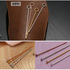 Silver/Gold Plated Ball Head Eye Pins Jewelry Finding 15/20/25/30/35/40/45/50mm