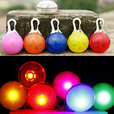 Fascinating Pet Dogs Cats Puppy LED Flashing Collar Safety Night Light Pendant
