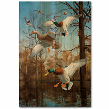 WGI-GALLERY Greenhead Haven Painting Print Plaque