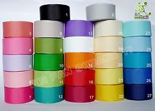 """7/8""""22mm 5 Yards Grosgrain RIBBON 27 Color Options U pick Craft Sewing Bow"""