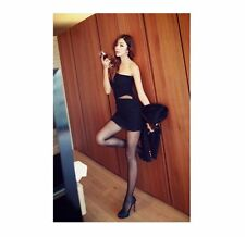 xia Fashion slim gauze dress nightclub sexy dress package hip mini-skirt