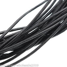 Wholesale Mixed Lots Real Leather Jewelry Cord 2mm