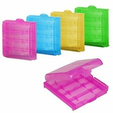 2016 5/10X Plastic Translucent Case Holder Storage Box for AA AAA Battery