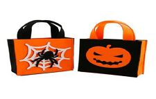 Halloween ~ Trick or Treat ~ Party ~ Felt Bag