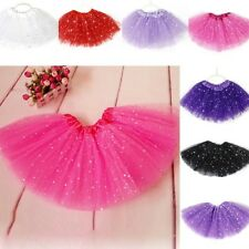 Princess Bling Tutu Skirt Girls Party Ballet Dance Wear Pettiskirt 2-7 T Kids