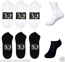 Wholesale Dozen Lot Knocker Cotton No Show Low Cut Socks Solid Size: 9-11 10-13