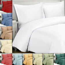 Super Soft 100% Viscose from Bamboo Duvet Cover Set, 300 TC Solid Duvet Covers