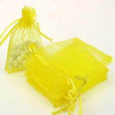 50 Organza Gift Bags Jewellery Christmas Packing Pouches Wedding Party Favour k