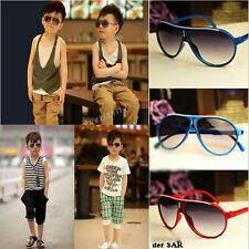 Cool Children Boys Girls Kids Plastic Frame Aviator Sunglasses Goggles  Fashion