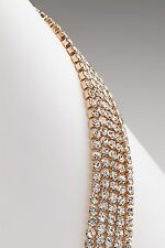Silver & Co Sparkly Cubic Zirconia Bracelet - Assorted Finishes