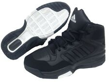 Adidas kids Electrify BASKETBALL Mid Boot TRAINER S83943 Black UK 3 to 6.5uk