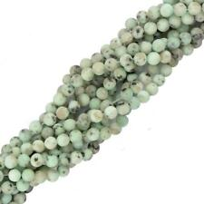 "15"" Strand Round Sesame Jasper Gemstone Spacer Loose Beads Jewelry Making"