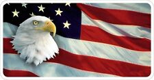 American Flag United States Eagle Flag Decal / Sticker