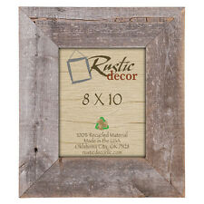 Rustic Decor Barn Wood Reclaimed Wood Extra Wide Wall Picture Frame