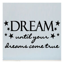 Sweetums Wall Decals Dream Until Your Dreams Come True Wall Decal