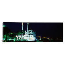 iCanvas Panoramic Ortakoy Mosque, Istanbul, Turkey Photographic Print on Canvas