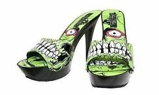 Iron Fist Zombie Growler Platform Goth Punk Rockabilly Psychobilly Pinup Tattoo