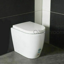 New Wall Hung toilet suite Steel framed soft close seat inwall concealed cistern