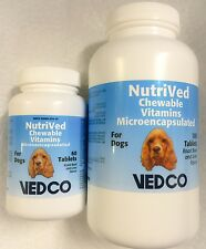 Vedco NutriVed Chewable Vitamins For Dogs Pet Dietary Supplement