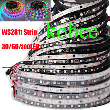 WS2811 5050 RGB LED Strip 5M 150 300 450Leds Addressable DC12V