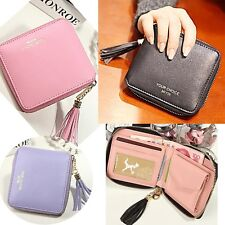 Women's Purse Student Coin Card Holder Zip Clutch Small Bag Mini Couples Wallet