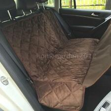 Non-slip Pet Car Back Seat Cover Dog Safety Hammock Protector Mat for Trunk RJ17