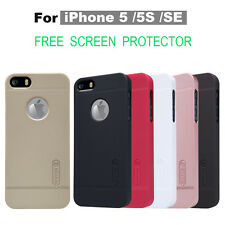 Slim Matte Hard Back Case Cover For iPhone 5 5s SE Free Screen Film Protective