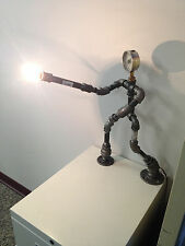 Wizarding Dueling Industrial Robot Black Pipe Table Lamp Steampunk Harry Potter