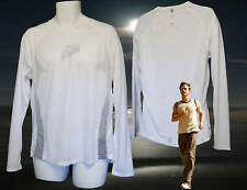 NEW NIKE Super Lightweight Ventilated Running Shirt FREE NIKE HUMAN RACE T
