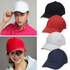 Mens Womens Adjustable Tennis Cap Hiking Golf Baseball Ball Sports Outdoor Hats