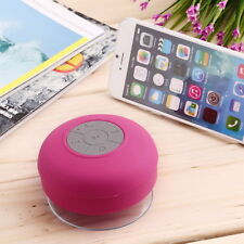 Waterproof Wireless Bluetooth Handsfree Mic Suction Speaker Shower Car mic FSS A