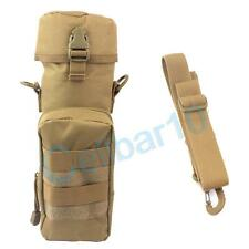 Molle EDC Utility Shoulder Bag Gear Water Bottle Pouch Tactical Kettle Waist Bag