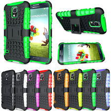 Heavy Duty Shock Proof Stand Case Cover Military Builder Hard for iPhone Samsung