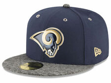 Official 2016 NFL Draft Los Angeles Rams Hat New Era 59FIFTY On Stage