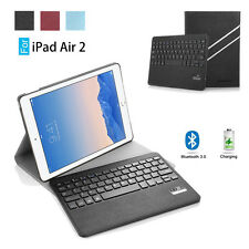 Smart PU Leather Case Cover Stand Bluetooth Keyboard For Apple iPad Air 2