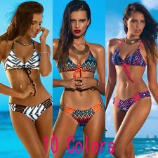 Women Sexy Padded Bra Bikini Bandage Brazilian Swimwear Push Up Bathing Swimsuit