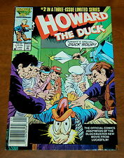 Howard the Duck Movie Adaptation (1986) Issue #1 Limited Series VG/FN Marvel
