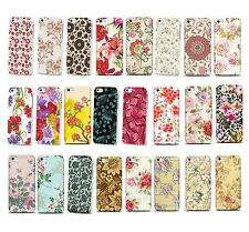 NEW PRETTY FLOWER FLORAL VINTAGE SHABBY CHIC HARD CASE COVER FOR IPHONE 4 & 5