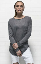 OneTeaspoon Wool Blend Tee Dress - Grey - SIZE S/10