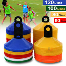 SPORTS TRAINING DISCS MARKERS CONES SOCCER AFL EXERCISE RUGBY FITNESS AU STOCK