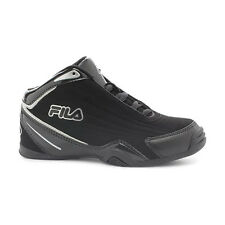 Fila SLAM 12C Youth Boys Black Athletic Basketball Sneakers Shoes