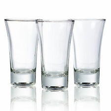 3, 6 Or 12 85ml Double Shot Glasses Alcohol Vodka Shooter Drinking Games Party