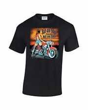 BAD ASS BOYS HAVE BAD ASS TOYS PRINTED T-SHIRT