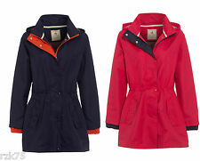 Ladies Haswell Coat Jacket, Waterproof Windproof Summer Parka Jackets Size 10-18