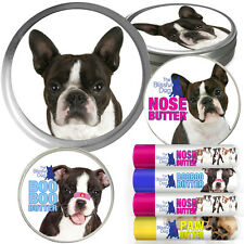 BOSTON TERRIER COMBOS FOR DRY NOSES, ROUGH PAWS, SKIN IRRITATIONS & ANXIETY