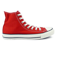 Mens Converse Chuck Taylor Red All Star Hi Trainers